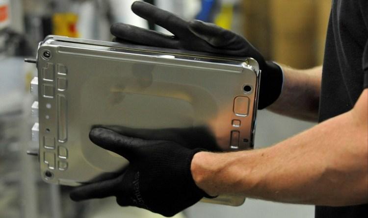 So wird die Batterieeinheit für das Elektroauto Nissan Leaf produziert. Bildquelle: Nissan