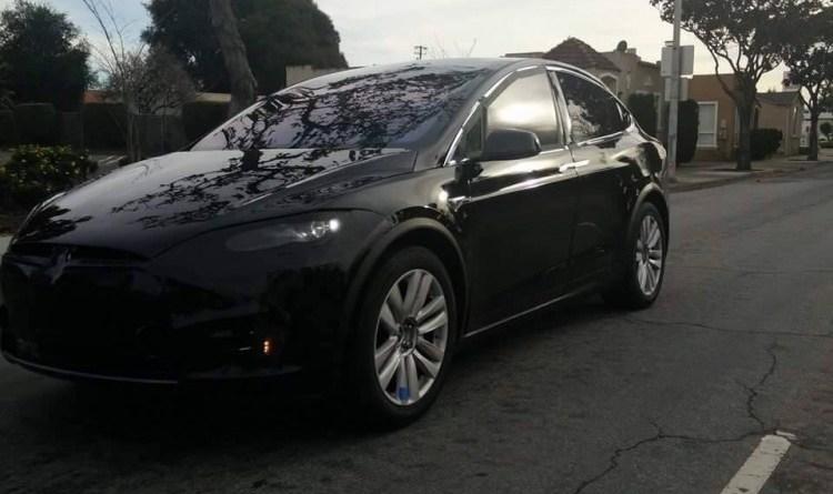 Elektroauto Tesla Model X. Bildquelle: Bay Area Car Spotters