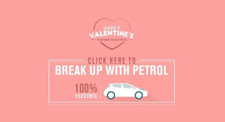 Beende die Bezieung mit einem Verbrenner und gib einem Elektroauto die Chance. Bildquelle: Nissan