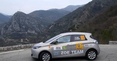 Elektroauto Renault Zoe bei der Rallye Monte-Carlo ZENN 2015. Bildquelle: Renault