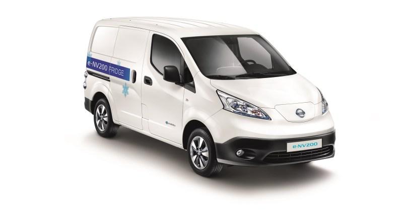 Das Elektroauto Nissan e-NV200 Fridge verfügt über einen Kühlraum. Bildquelle: Nissan