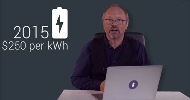 In dem Batterie-Spezial widmet sich Robert Llewellyn den Mythen rund um den Stromspeicher. Bildquelle: Robert Llewellyn/Fully Charged(Youtube.com)