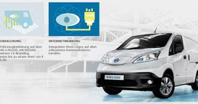 Nissan macht Unternehmen das Elektroauto e-NV200 schmackhaft. Bildquelle: Nissan