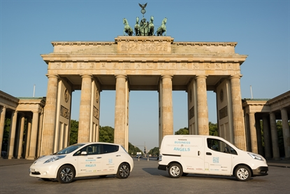 Berliner Start-ups können sich 5 Tage kostenlos von Nissan ein Elektroauto ausleihen. Bildquelle: Nissan
