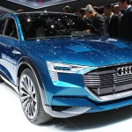 The electric car Audi e-tron quattro concept was presented at the IAA 2015 in Frankfurt am Main, and will be launched in 2018.