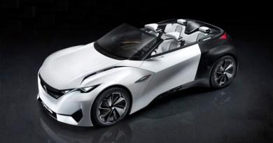Auf der IAA 2015 in Frankfurt am Main wird die Studie des Elektroauto Peugeot Fractal präsentiert. Bildquelle: Peugeot