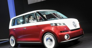 Konzeptstudie des Elektroauto VW e-Bulli. Bildquelle: dpp-AutoReporter