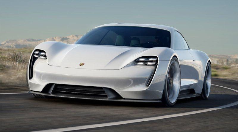 Elektroauto Porsche Mission E. Bildquelle: Porsche