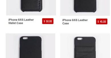 Handyhüllen für das Apple iPhone von Tesla Motors. Bildquelle: Tesla Motors