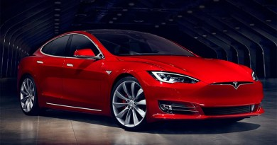So sieht das Elektroauto Tesla Model S nach dem Facelifting im Jahr 2016 aus. Bildquelle: Tesla Motors