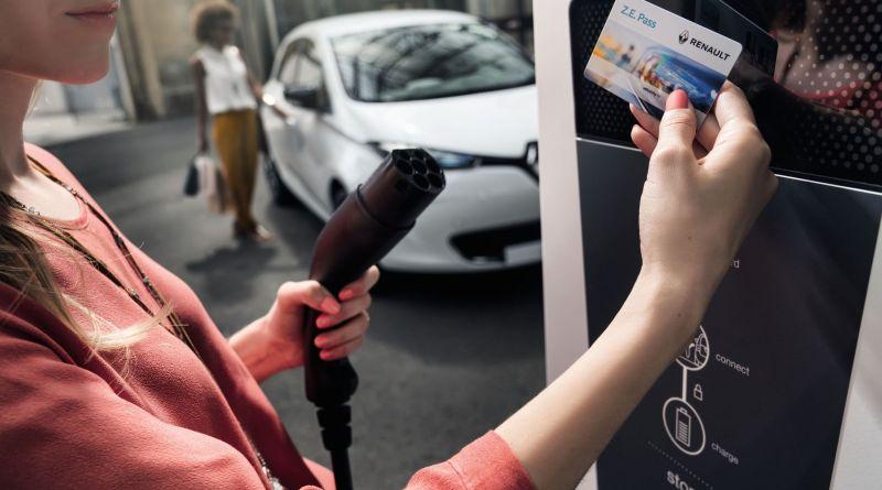 Der Z.E. Pass von Renault soll das Aufladen von Elektroautos viel einfacher machen. Bildquelle: Renault