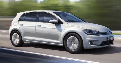 Elektroauto VW e-Golf 2017. Bildquelle: VW AG