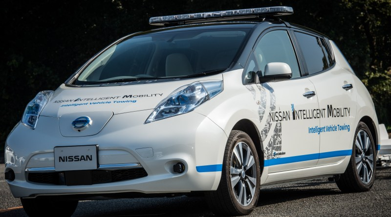Diese Version des Elektroauto Nissan Leaf kann autonom fahren. Bildquelle: Nissan