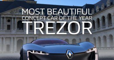 Elektroauto Renault Trezor hat die Auszeichnung schönstes Concept Car 2016 erhalten. Bildquelle: Renault