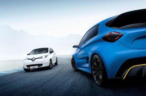 Das Elektroauto Renault Zoe e-Sport verfügt über 460 PS und eine Reichweite von 410 Kilometer. Bildquelle: Renault