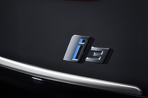 Logo des Elektroauto BMW i3 2018. Bildquelle: BMW