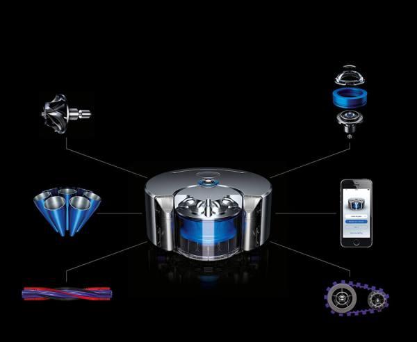 Symbolbild. Dies ist der Robotersauger Dyson 360 Eye™, man darf also gespannt sein, wie das Elektroauto aussehen wird. Bildquelle: Dyson