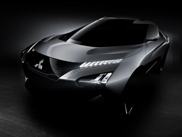Elektroauto Mitsubishi e-EVOLUTION CONCEPT. Bildquelle: Mitsubishi