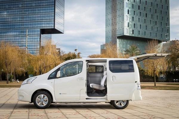 In Europa feierte die neue Generation des Elektroauto Nissan e-NV200 seine Europapremiere, es verfügt über deutlich mehr Reichweite. Bildquelle: Nissan