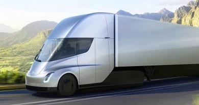 Elektro-LKW Tesla Semi Truck. Bildquelle: Tesla.com