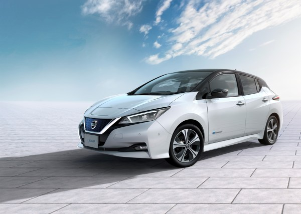 Elektroauto Nissan Leaf 2017. Nissan fuses pioneering electric innovation and ProPILOT technology to create the new Nissan LEAF: the most advanced electric vehicle for the masses. Bildquelle: Nissan