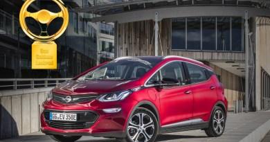 Das Elektroauto Opel Ampera-e hat die Auszeichnung das Goldene Lenkrad 2017 erhalten. Bildquelle: Opel