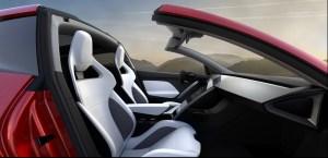 Elektroauto Tesla Roadster 2 seitlich. Bildquelle: Tesla