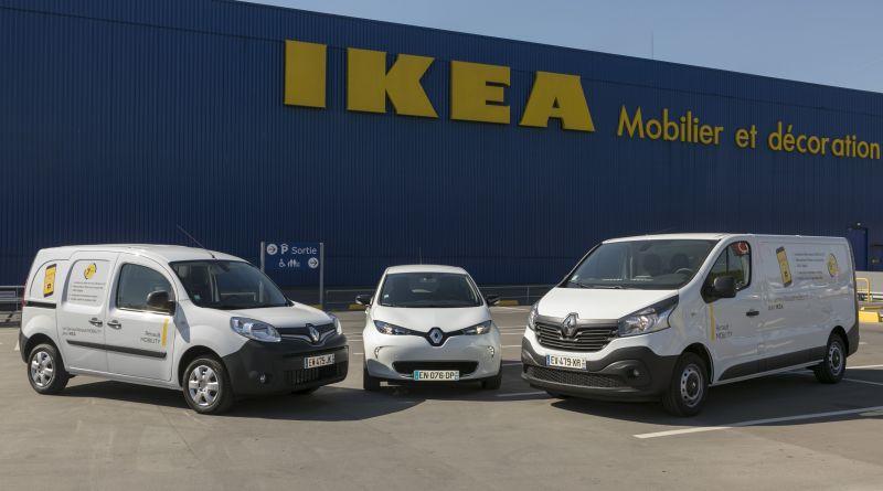 Ikea und Renault starten in Frankreich ein Carsharing-Angebot. Bildquelle: Renault
