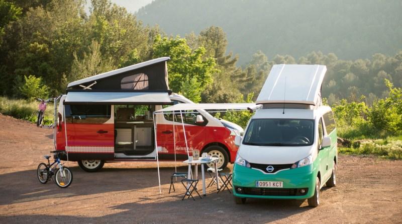 Elektroauto Nissan e-NV200 Camper. Bildquelle: Nissan