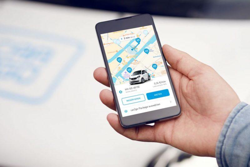 Mercedes-Benz hat in Hamburg eine Pilotphase gestartet, bei der getestet wird, wie in Hamburg die Elektroautos im Rahmen des Carsharing-Anbieters car2go genutzt werden. Bildquelle: Mercedes-Benz / car2go