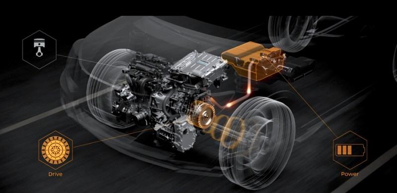 Elektroantrieb Nissan e-Power System. Bildquelle: Nissan