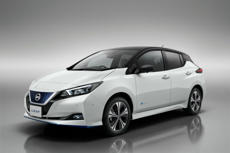 Elektroauto Nissan Leaf e+ mit 62 kWh Batterie 2019. Bildquelle: Nissan