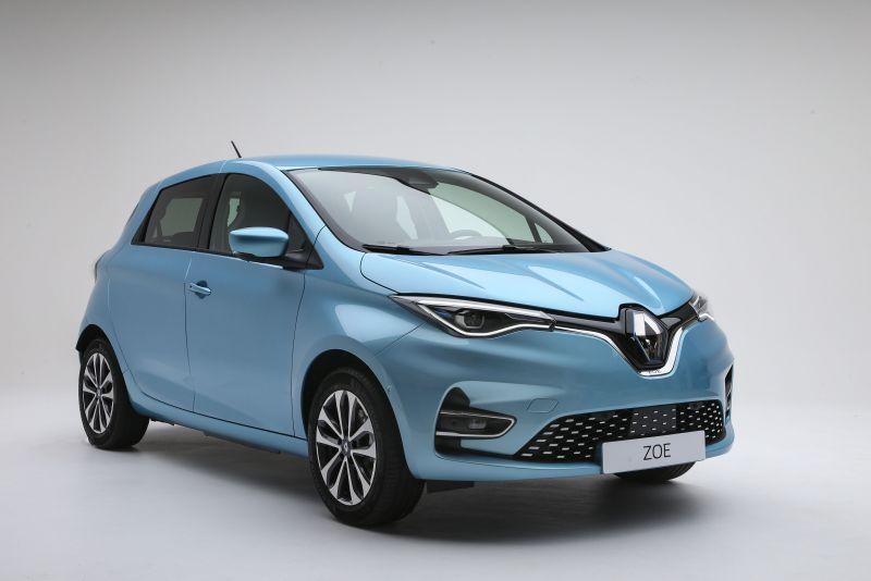 Das Elektroauto Renault Zoe war auch im Jahr 2019 der meistgekaufte Stromer