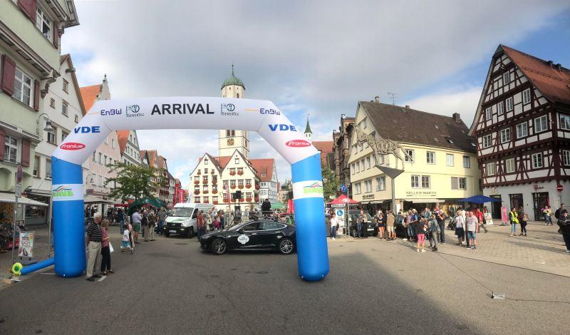 Wave Trophy Germany 2019 - Zwischenhalt in Biberach. Bildquelle: Wavetrophy