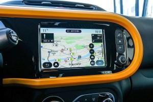 Elektroauto Renault Twingo Electric Infotainment Navi. Bildquelle: Renault