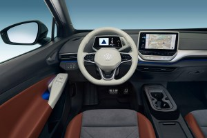 Das Cockpit des Elektroauto VW ID.4. Bildquelle: VW AG