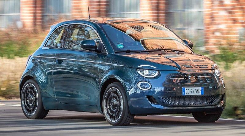 Elektroauto Fiat 500. Bildquelle: Fiat