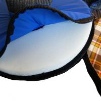 petOflex - Leckschutz f. Hunde Farbe: dunkelgrau mit ...