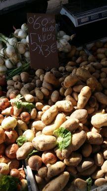 Kartoffeln vom Markt