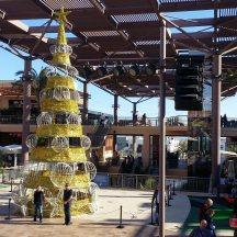 La Zenia Boulevard Plaza Mayor zur Weihnachtszeit