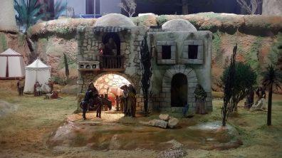 Maria auf dem Esel