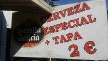 Cerveza + Tapa 2 Euro