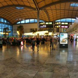 Geschäfte am Flughafen