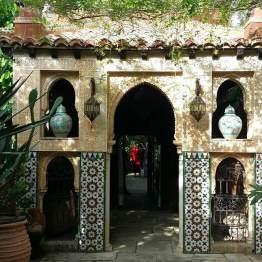arabischer Eingangsbereich