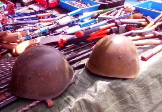 Stahlhelme