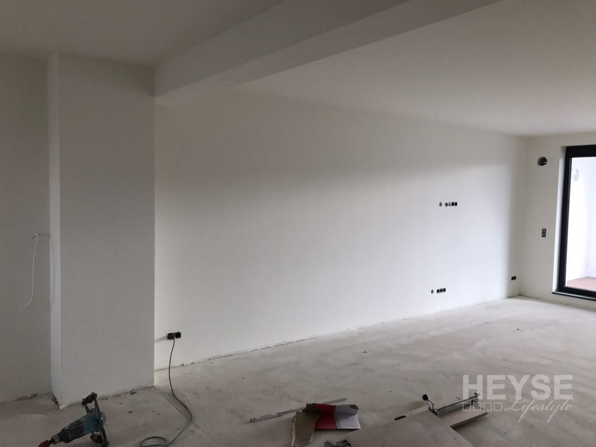 Top Referenz  Wohnzimmerwand in Betonoptik mit Schalungsfugen  MeinMalerde