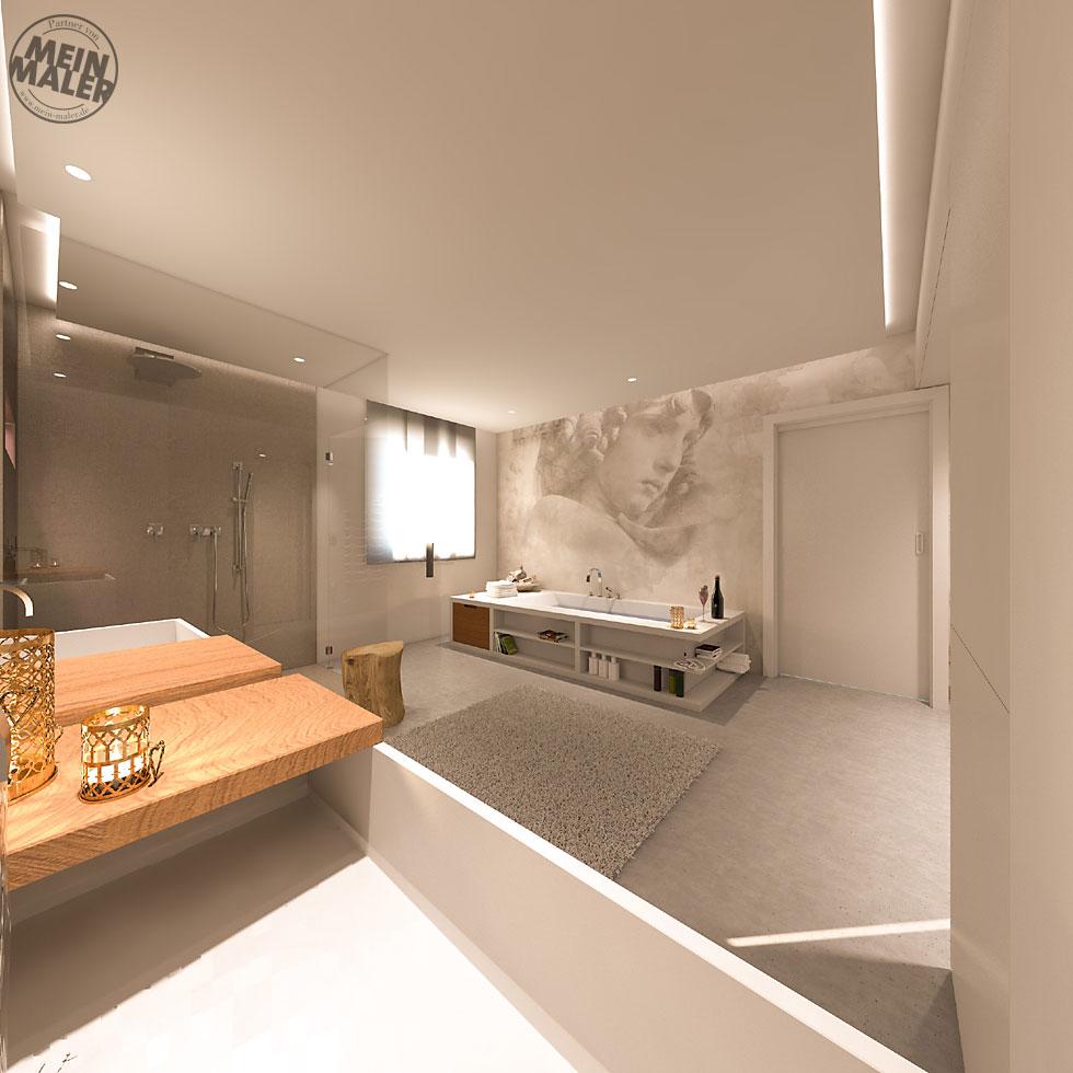 Wasserfeste Tapete Für Badezimmer – haus ideen