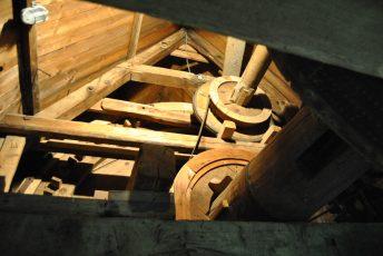 Das Innenleben der Bockwindmühle Abbenrode