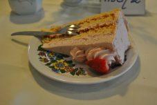 Mhh leckere Erdbeer-Sahne-Torte
