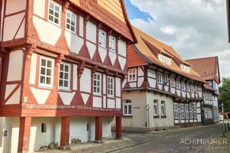 Fachwerkhäuser in Hornburg - Ortsansichten in #nhvo